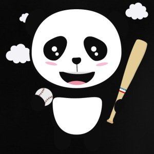Panda Baseball Player with Ball S99m1 Baby Shirts  - Baby T-Shirt