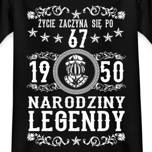 1950- 67 lat - Legendy - 2017 - PL T-shirts - T-shirt barn