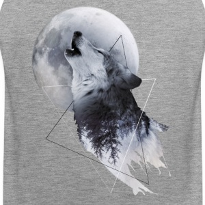 Howl with the Wolf Männer Premium TankTop - Männer Premium Tank Top