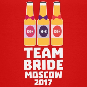 Team bruden Moskva 2017 Sxvv8 T-shirts - Teenager premium T-shirt
