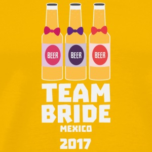 Team Bride Mexico 2017 6lx T-Shirts - Men's Premium T-Shirt