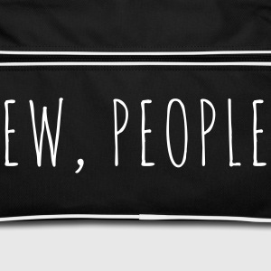 Ew People Funny Quote Bags & Backpacks - Retro Bag