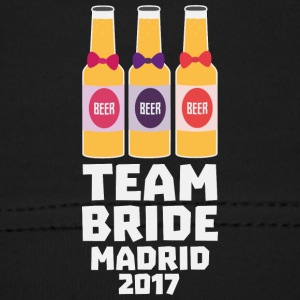 Team Bride Madrid 2017 Sfkk2 Baby Cap - Baby Cap