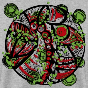 Mandala graffiti Sweat-shirts - Sweat-shirt Homme