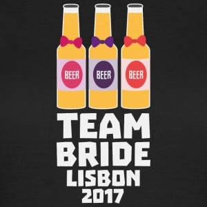 Team Bride Lisbon 2017 Sp28c T-Shirts - Women's T-Shirt