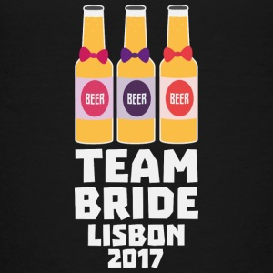 Team Bride Lisbon 2017 Sp28c Shirts - Teenage Premium T-Shirt