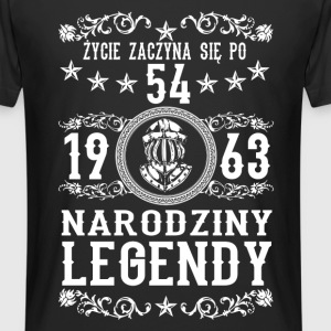 1963 - 54 lat - Legendy - 2017 - PL T-shirts - Herre Urban Longshirt