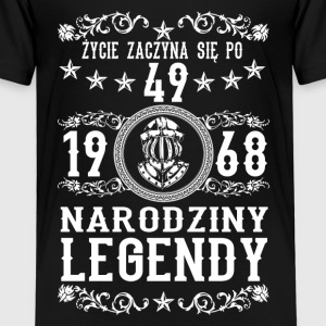 1968 - 49 lat - Legendy - 2017 - PL Shirts - Kids' Premium T-Shirt