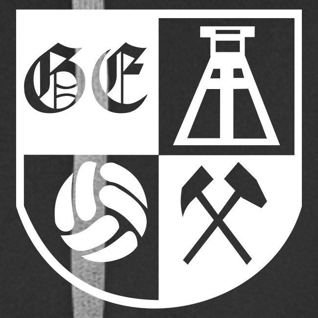 """Kapu Jacke """"Ge-Wappen"""" mit Armdruck """"Gelsenkirchen"""" und """" Rückendruck"""