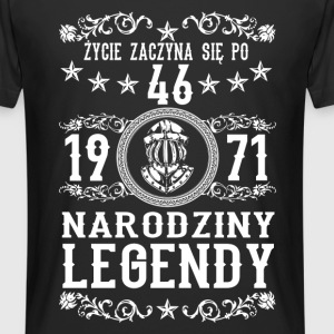 1971 - 46 lat - Legendy - 2017 - PL T-shirts - Mannen Urban longshirt