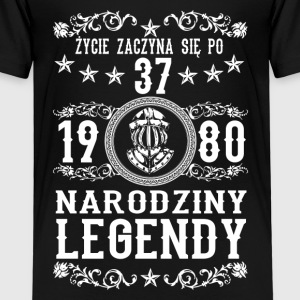 1980 - 37 lat - Legendy - 2017 - PL Shirts - Kids' Premium T-Shirt
