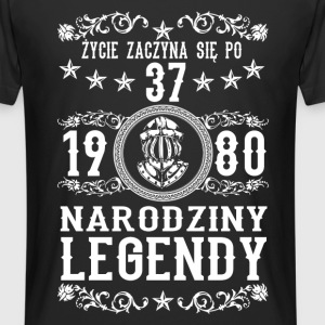 1980 - 37 lat - Legendy - 2017 - PL T-shirts - Mannen Urban longshirt