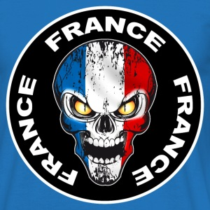 France Skull 06 Tee shirts - T-shirt Homme