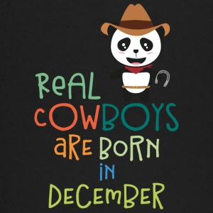 Real Cowboys are born in December S31x2 Baby Long Sleeve Shirts - Baby Long Sleeve T-Shirt