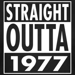 Straight Outta 1977 Funny 40th Birthday Gift Magliette - Maglietta da donna
