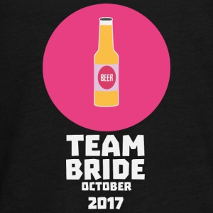 Team bride October 2017 Henparty Sqaa3 Long Sleeve Shirts - Teenagers' Premium Longsleeve Shirt