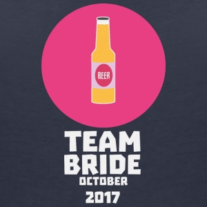 Team bride October 2017 Henparty Sqaa3 T-Shirts - Women's V-Neck T-Shirt