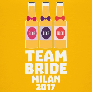 Team Bride Milan 2017 S198d Shirts - Teenage Premium T-Shirt