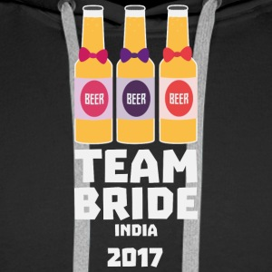 Team Bride India 2017 Sf2nz Hoodies & Sweatshirts - Men's Premium Hoodie