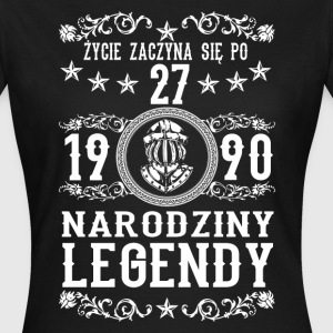 1990 - 27 lat - Legendy - 2017 - PL T-shirts - T-shirt dam