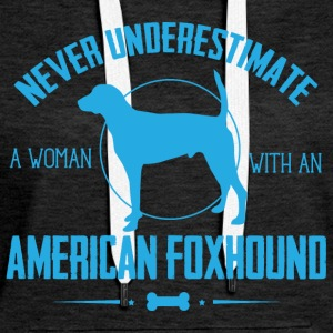 Dog American Foxhound NUW Hoodies & Sweatshirts - Women's Premium Hoodie