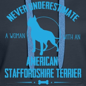 Dog Stafford NUW Hoodies & Sweatshirts - Women's Premium Hoodie