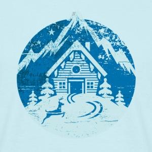Skihütte, vintage