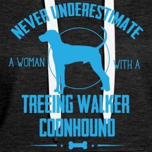 Dog Walker NUW Hoodies & Sweatshirts - Women's Premium Hoodie