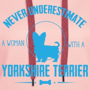 Dog Yorkshire Terrier NUW Hoodies & Sweatshirts - Women's Premium Hoodie