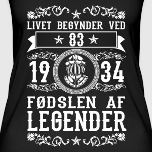 1934 - 83 ar - Legender - 2017 - DK Tops - Women's Organic Tank Top