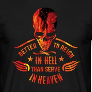 Reign in Hell T-Shirts - Men's T-Shirt