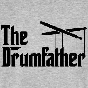 Drummer - The Drumfather T-Shirts - Männer Bio-T-Shirt