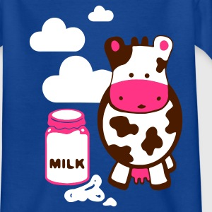 Navy kuh milk Kinder T-Shirts - Teenager T-Shirt