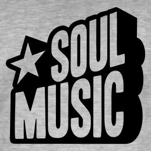 SOUL MUSIC STAR  T-Shirts - Men's Vintage T-Shirt