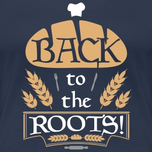 BACK to the Roots! T-Shirts - Frauen Premium T-Shirt