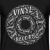 Vinyl Records - Men's T-Shirt