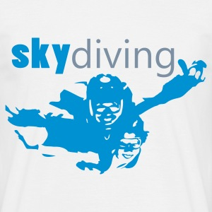 sky diving - Männer T-Shirt
