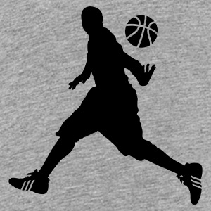 BASKET BALL MOVE Shirts - Teenage Premium T-Shirt