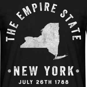 New York, the Empire state T-Shirts - Men's T-Shirt