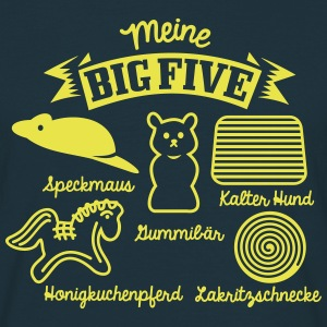 Big Five - Männer T-Shirt