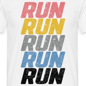 Run Run Run T-Shirts - Men's T-Shirt