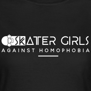 Skater Girls against Homophobia T-Shirts - Frauen T-Shirt