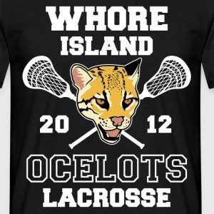 Whore Island Ocelots T-Shirts - Men's T-Shirt