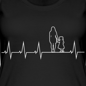 Mother and daughter - heartbeat Tops - Women's Organic Tank Top