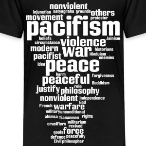 pacifism (peace not war) Shirts - Kids' Premium T-Shirt