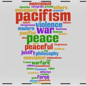 pacifism (peace not war) Mugs & Drinkware - Full Color Panoramic Mug