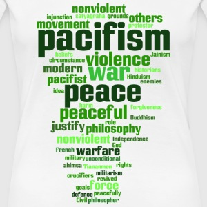 pacifism (peace, not war) T-Shirts - Women's Premium T-Shirt