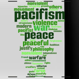 pacifism (peace, not war) Mugs & Drinkware - Full Color Panoramic Mug