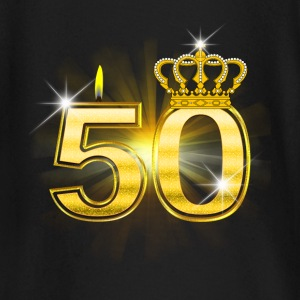 50 - Birthday - Queen - Gold Tee shirts manches longues Bébés - T-shirt manches longues Bébé