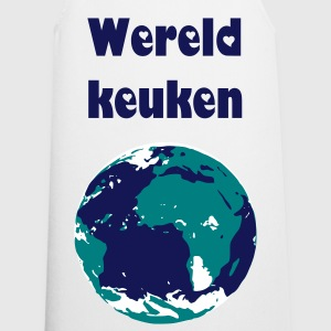 Wit world Kookschorten - Keukenschort